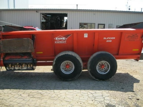 Used Kuhn Knight 8118 Manure Spreaders for Sale   Machinery Pete