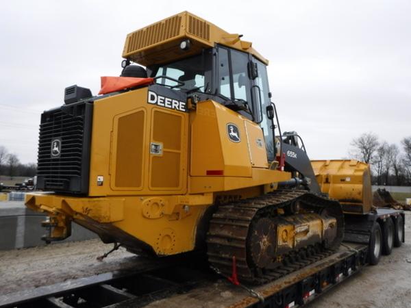 2015 John Deere 655K Crawler
