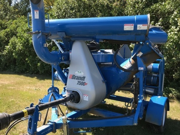 Brandt Grain Vac 7500 Manual
