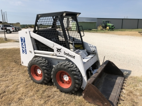 Used Bobcat 743 Skid Steers for Sale | Machinery Pete