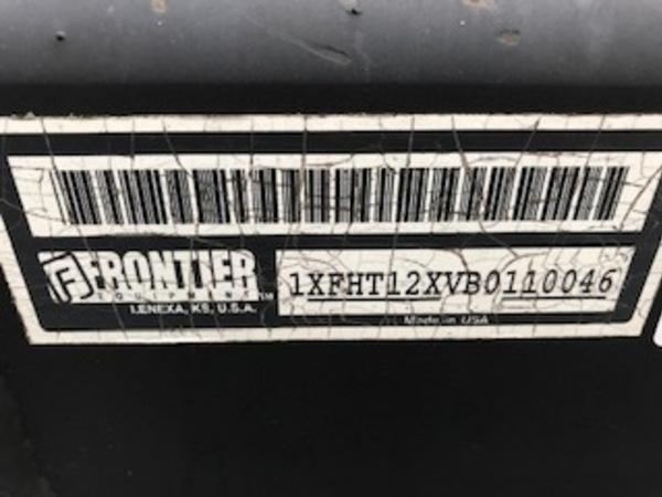 2011 Frontier HT1242 Header Trailer