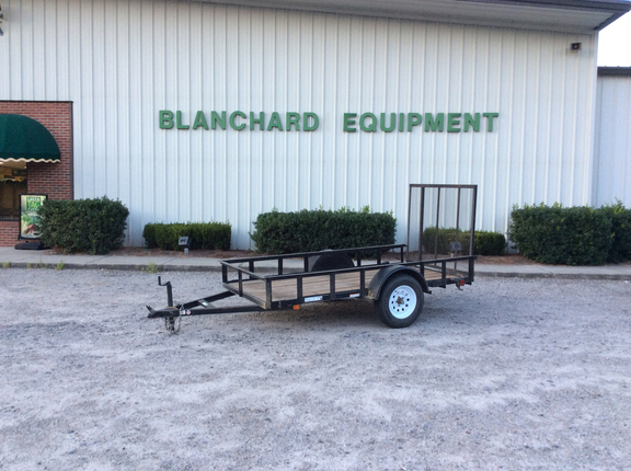 2009 Carry-On 5x10 Flatbed Trailer