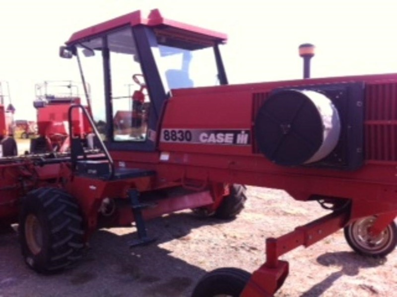 Used Case IH Self-Propelled Windrowers and Swathers for Sale