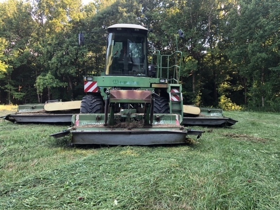 Krone Big M Self-Propelled Windrowers and Swather