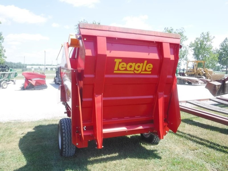 2015 Teagle Tomahawk 8500 Grinders and Mixer