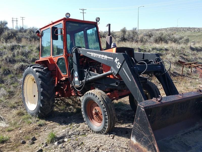 1988 Belarus 611 Tractor