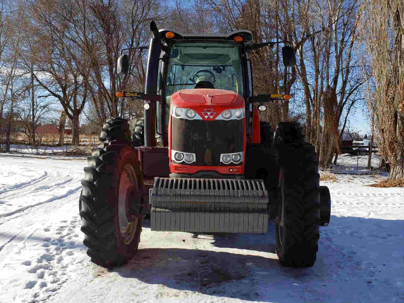 2011 Massey Ferguson 8650 Tractor