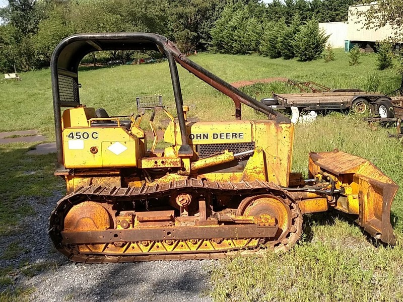 Used Deere 450C Crawlers for Sale | Machinery Pete
