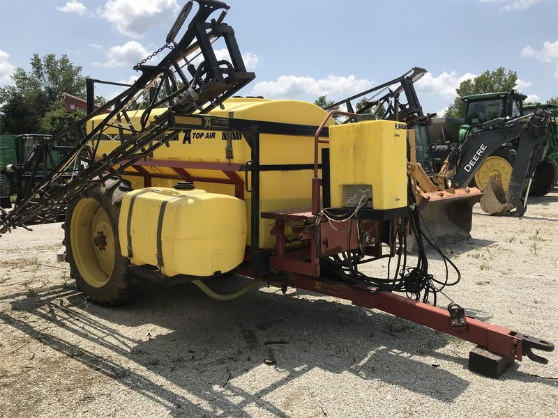 Used Top Air Ta1100 Pull Type Sprayers For Sale Machinery Pete