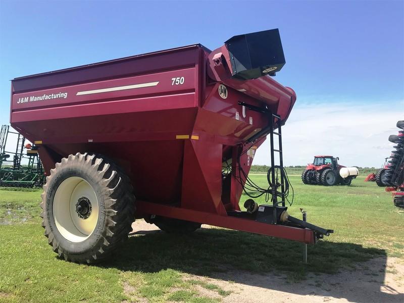 2008 J&M 750-18 Grain Cart
