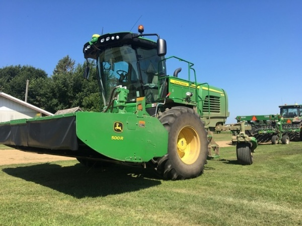 John Deere W235 Self-Propelled Windrowers and Swathers for