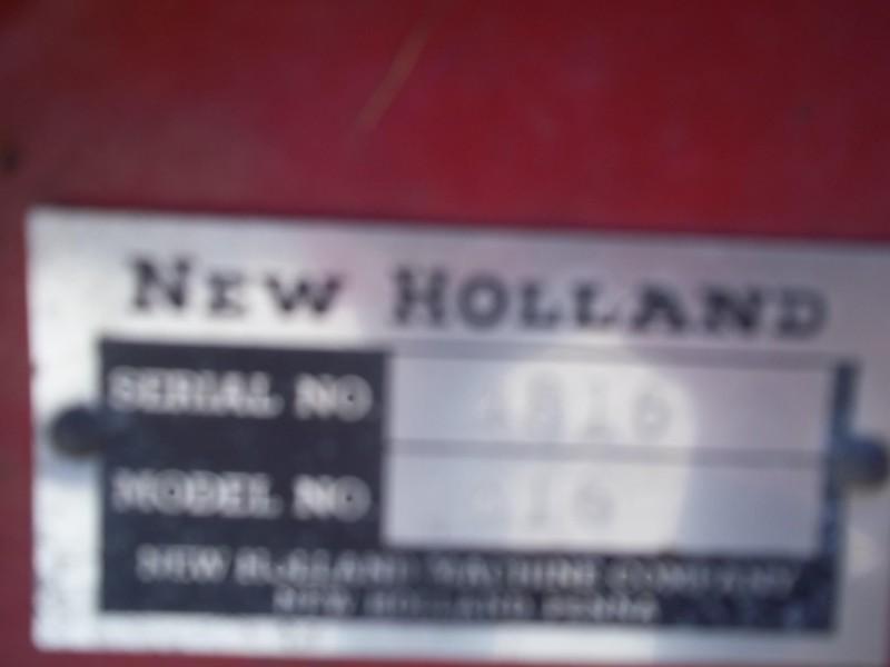 New Holland 616 Disk Mower