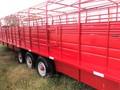 1985 Wilson 32 FT Livestock Trailer