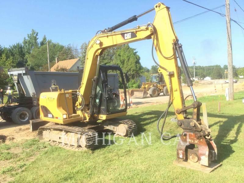 2008 Caterpillar 307D Excavators and Mini Excavator