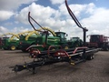 2016 Buhler Farm King 2450S Bale Wagons and Trailer