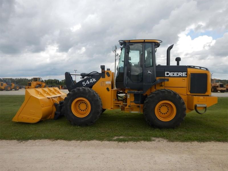 2012 Deere 544K Wheel Loader