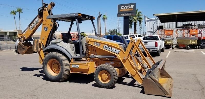 2014 Case 580SN Backhoe