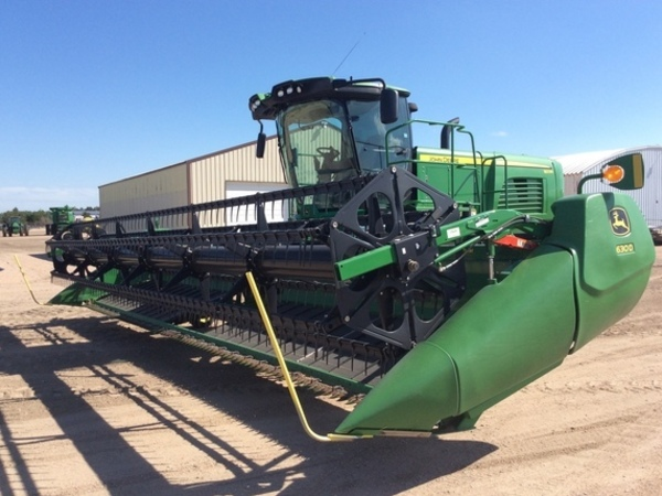 2014 John Deere W235 Draper Self-Propelled Windrowers and Swather