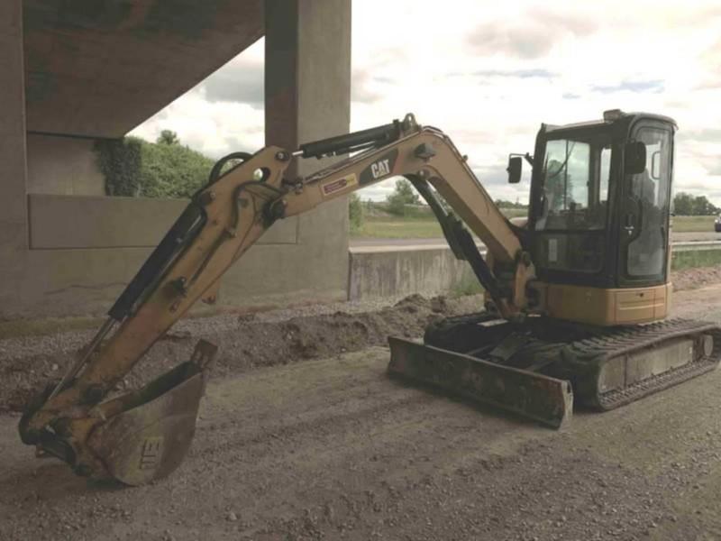 2010 Caterpillar 304C CR Excavators and Mini Excavator