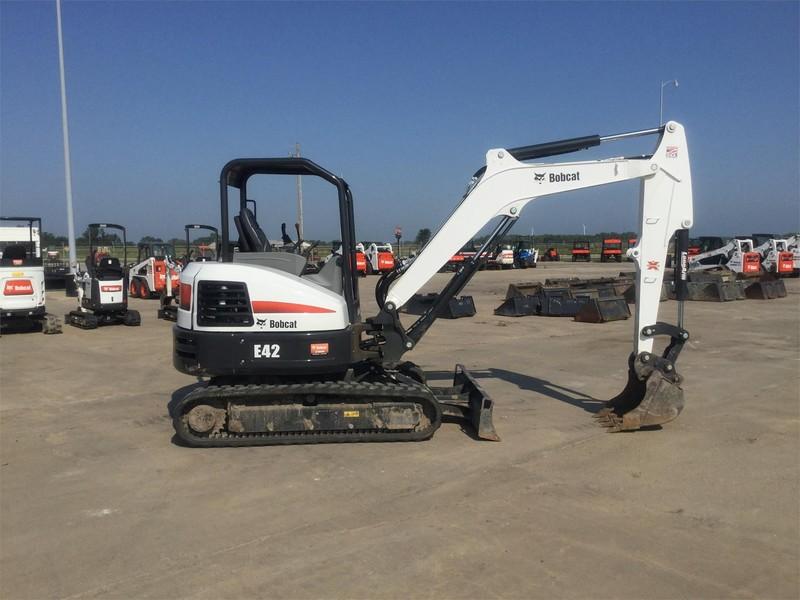 Used Bobcat E42 Excavators and Mini Excavators for Sale