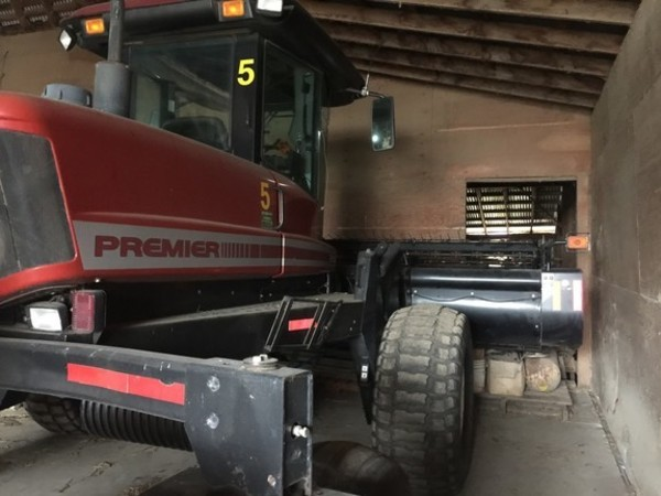 Used Self-Propelled Windrowers and Swathers for Sale