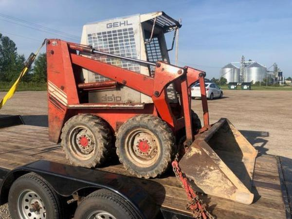 Used Gehl Skid Steers For Sale Machinery Pete