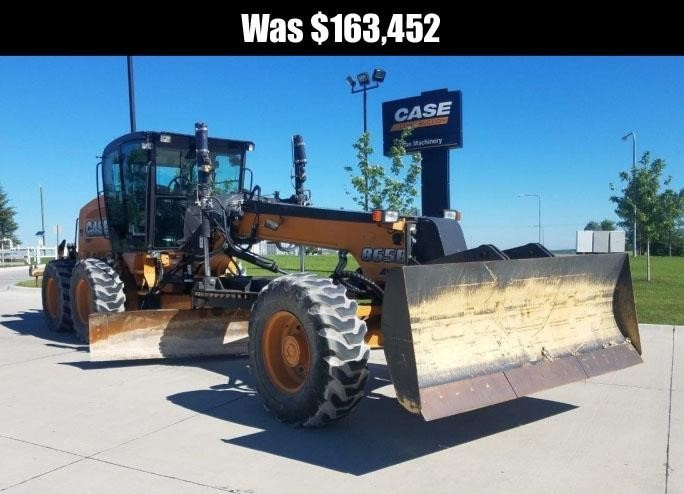 2014 Case 865B Scraper