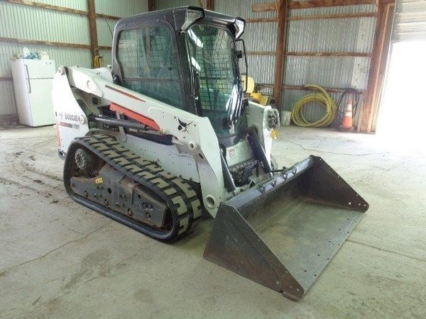Used Bobcat T550 Skid Steers for Sale   Machinery Pete