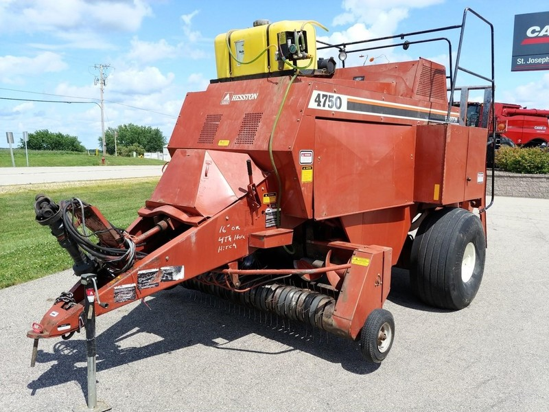 Used Hesston Big Square Balers for Sale | Machinery Pete
