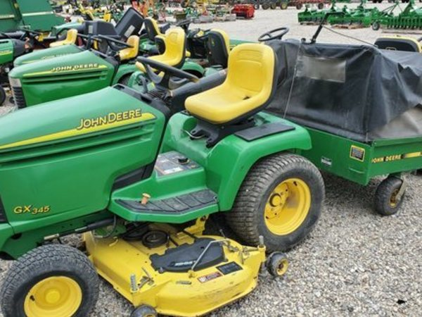 John Deere GX345 Lawn and Garden for Sale | Machinery Pete