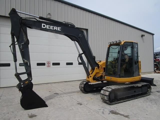 2011 Deere 85D Excavators and Mini Excavator