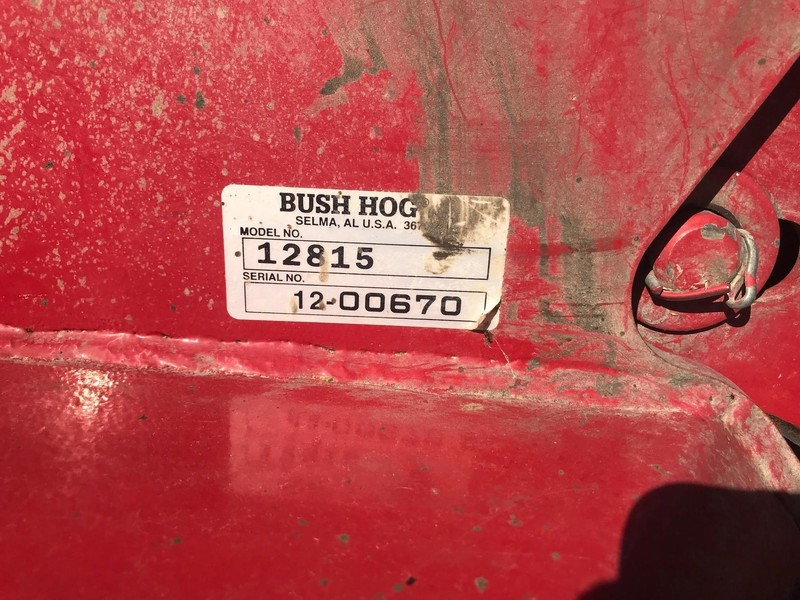 2014 Bush Hog 12815 Rotary Cutter