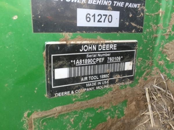 2015 John Deere 1890 Air Seeder