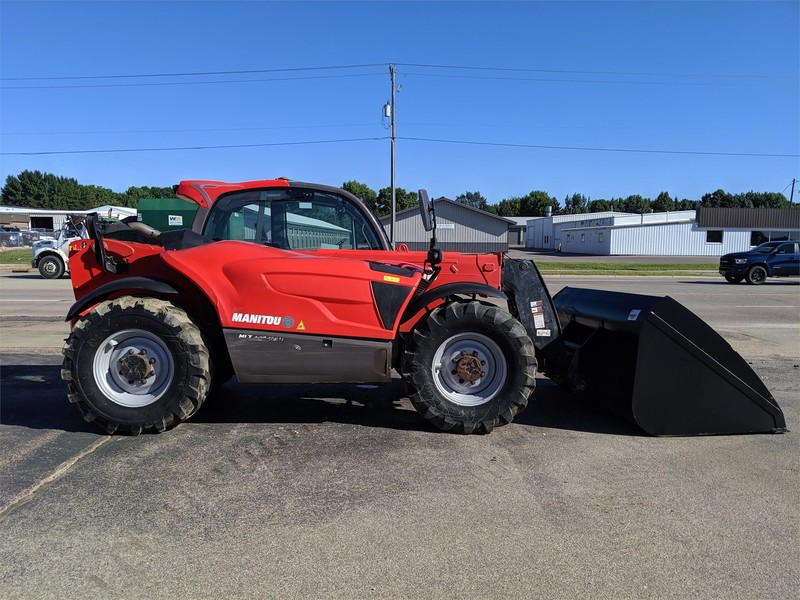 Used Manitou Telehandlers for Sale | Machinery Pete
