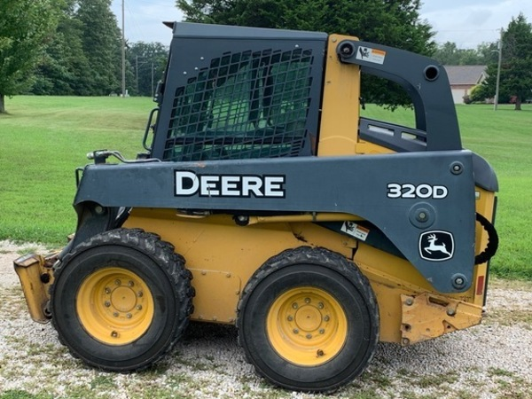 Used Deere 320D Skid Steers for Sale   Machinery Pete