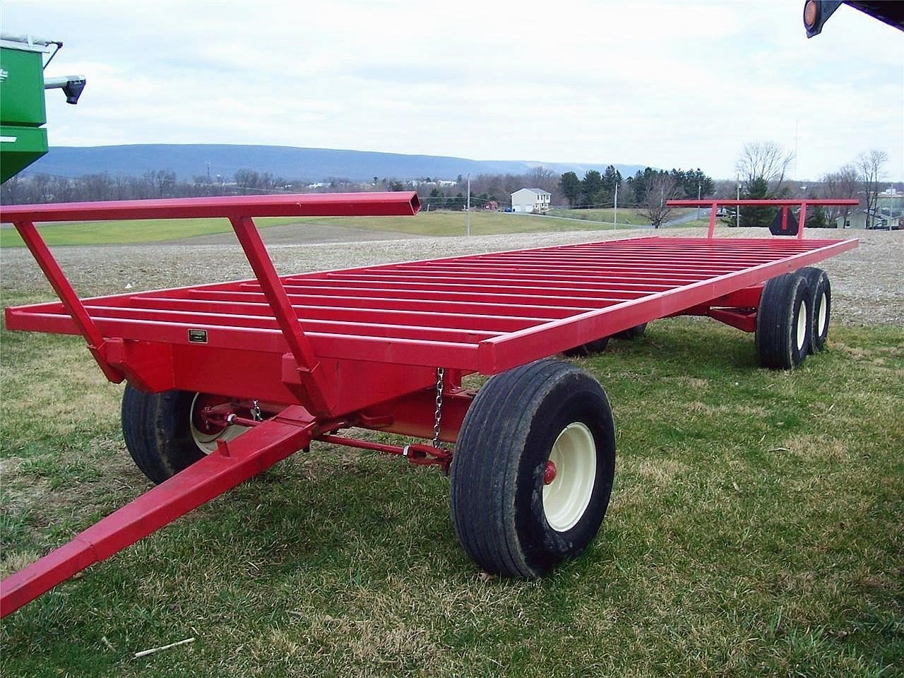 2020 Creekbank Welding 30 Bale Wagons and Trailer