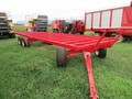 2020 Creekbank Welding 25COMBO Bale Wagons and Trailer