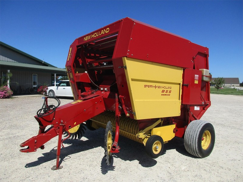 Used New Holland 855 Round Balers for Sale | Machinery Pete