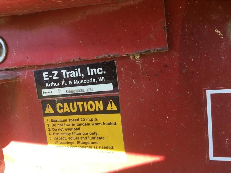 E-Z Trail 1384B Flatbed Trailer