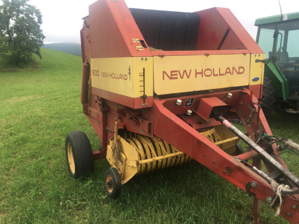Used New Holland Round Balers For Sale Machinery Pete