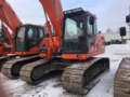 2014 Doosan DX180 LC-3 Excavators and Mini Excavator