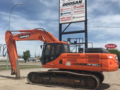2014 Doosan DX350 LC-5 Excavators and Mini Excavator