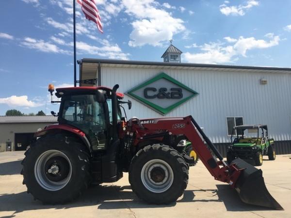 2017 Case IH Maxxum 125 CVT T4B Tractor