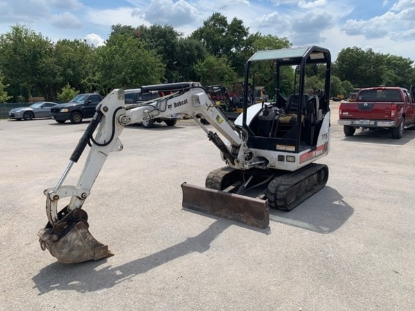 Used Bobcat Excavators and Mini Excavators for Sale