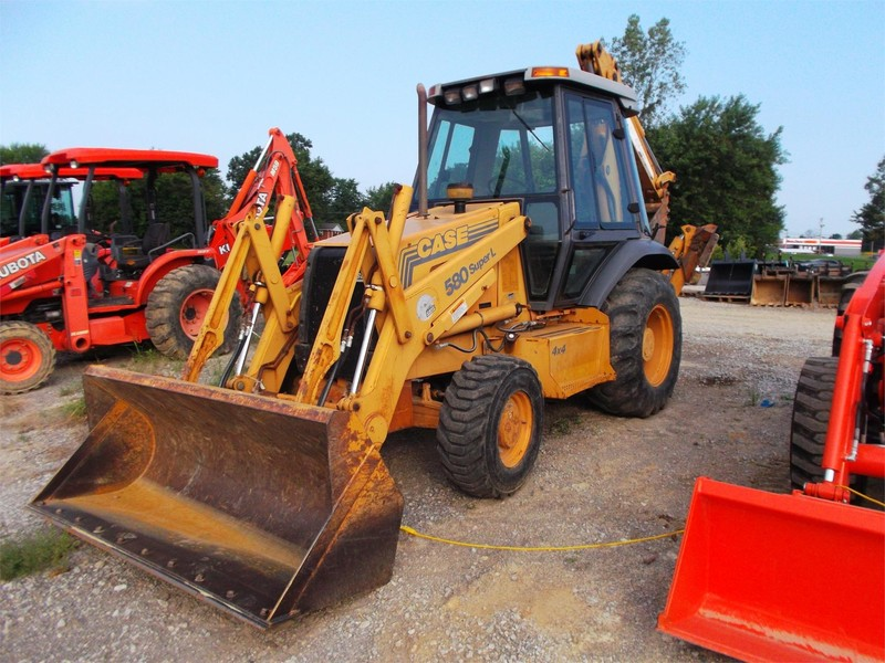 Used Case Backhoes for Sale   Machinery Pete