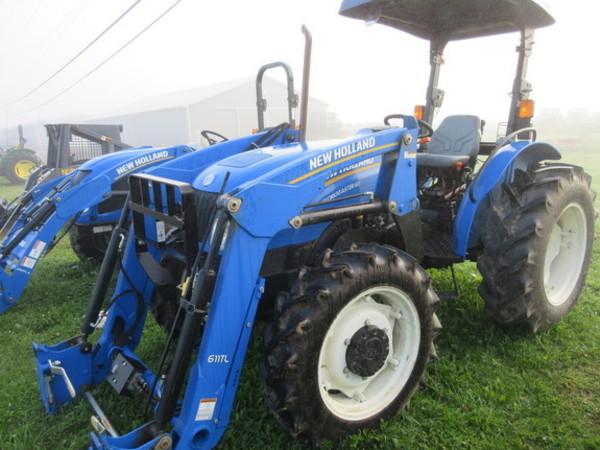 Used New Holland Tractors 40-99 HP for Sale | Machinery Pete
