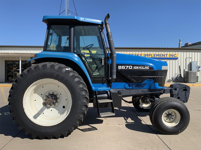 New Holland Ford >> Used Ford New Holland Tractors For Sale Machinery Pete