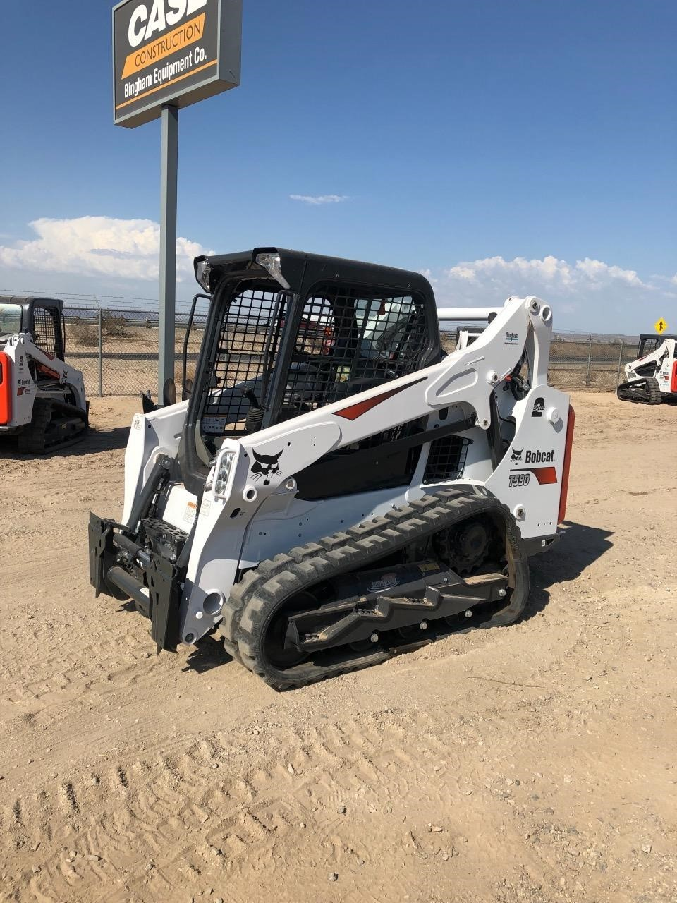 2019 Bobcat T590 Skid Steer