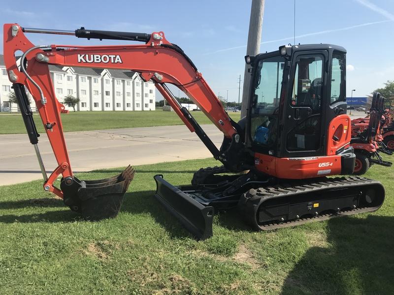 2019 Kubota KX057-4R3A Backhoe