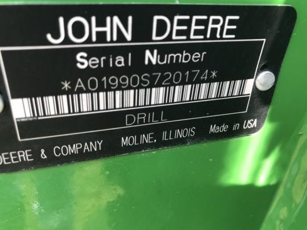 2007 John Deere 1990 Air Seeder